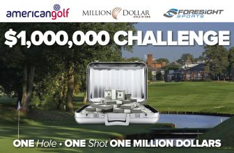 Play Million Dollar Hole In One in participating American Golf stores