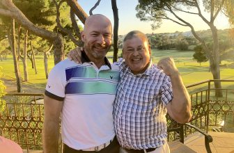 """SHEARER HAILS """"UNFORGETTABLE"""" HOLE-IN-ONE AS MCINTYRE MEETS HIS HERO"""